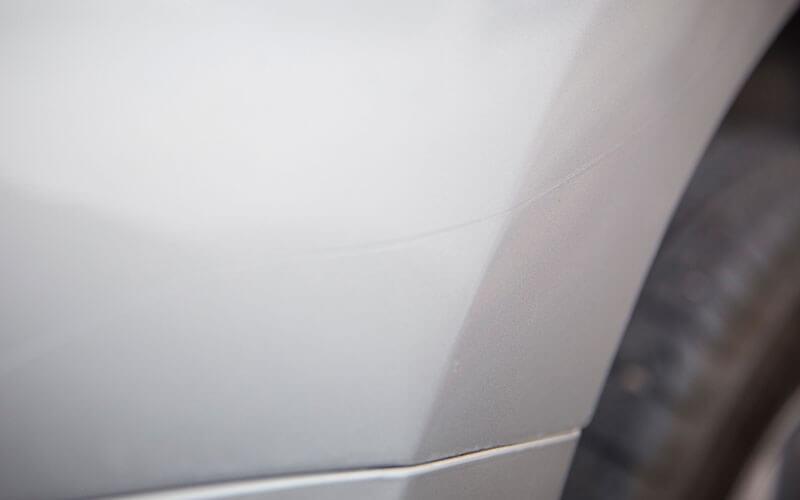 graffi interno pannello auto